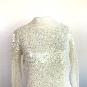 Laundry By Shelli Segal Sweaters - Laundry by Shelli Segal: Knit Sweater With Sequins